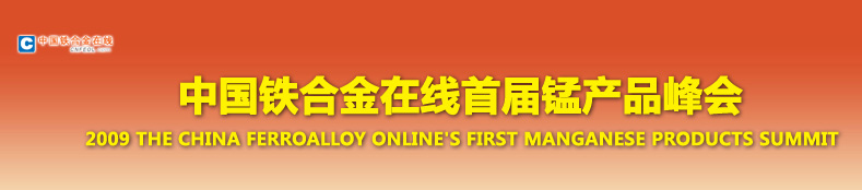 中国铁合金在线首届锰产品峰会